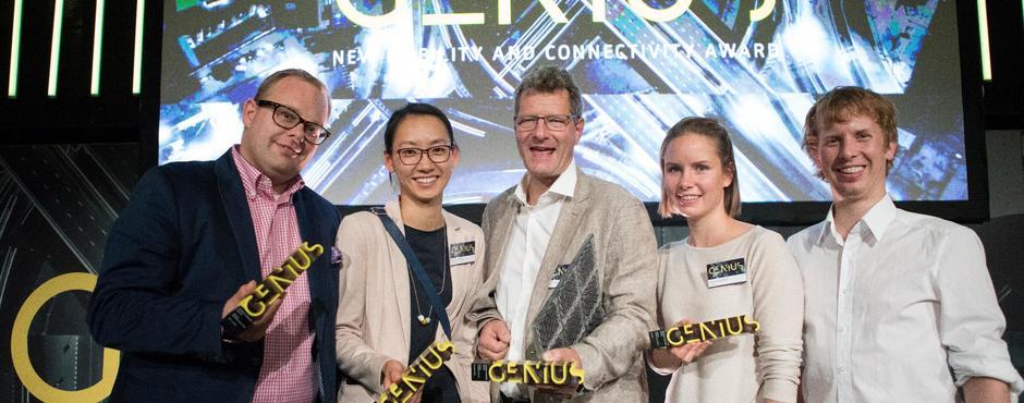 Genius Award 2018 geht an eCarUp