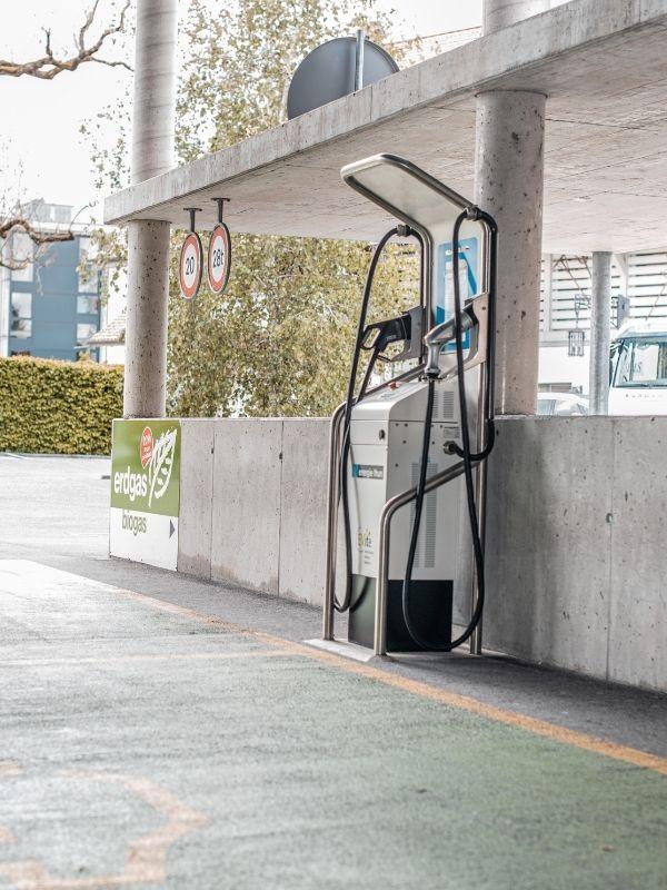 Öffentliche Ladestation vom Energieversorger Energie Thun