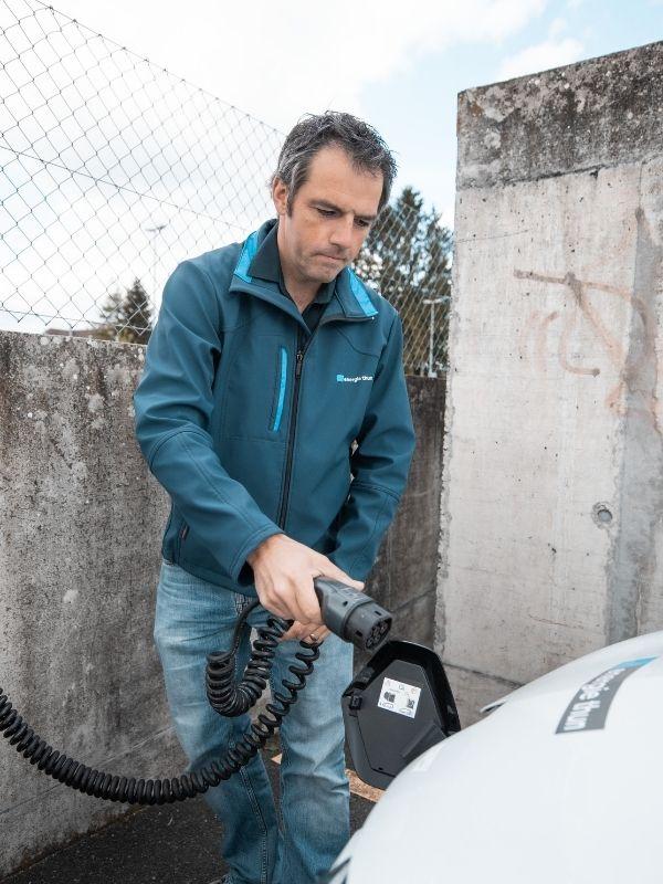 Ladelösung vom Energieversorger Energie Thun für Mitarbeiter
