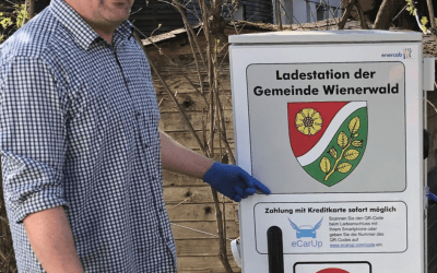 Erste E-Tankstelle im Wiederwald