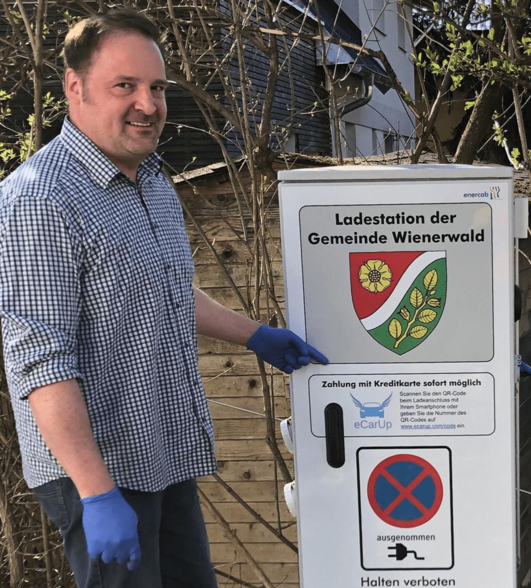 Ladestation im Wienerwald