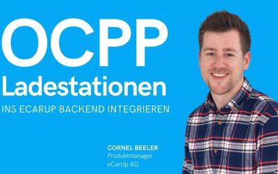 OCPP Ladestationen in eCarUp integrieren