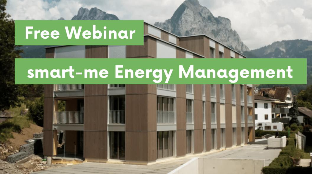 Webinar –  smart-me Energy Management