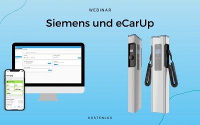 Webinar Siemens Ladestationen im eCarUp Backend