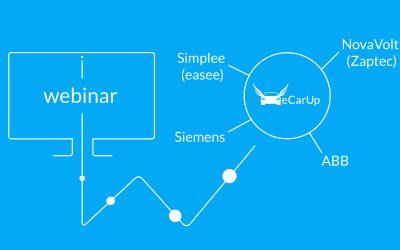 Webinare zur Integration von ABB, easee, Siemens und Zaptec Ladestationen ins eCarUp Backend