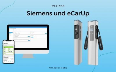Webinar Siemens Stationen mit eCarUp Backend